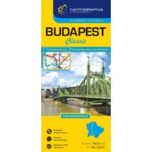 Cartographia  - Budapest Classic (puhaborítós) térkép