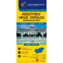 Cartographia  - Keszthely, Hévíz várostérkép