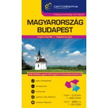 Magyarország + Budapest kombi atlasz