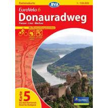 Duna menti kerékpárút térkép Eurovelo 6 - 7/5.