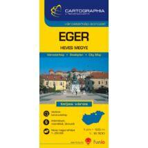 Cartographia  - Eger várostérkép (+Heves megye térképe)