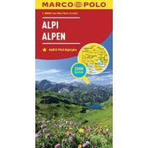 Alpok térkép