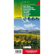 WK012 Hohe Wand–Schneebergland–Gutensteiner Alpen–Piestingtal–Lilienfeld–Triestingtal–Berndorf turistatérkép