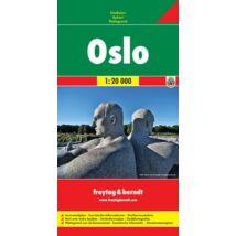 Oslo várostérkép