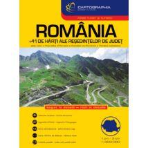 Cartographia  - Románia autóatlasz