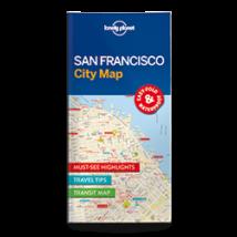 San Francisco laminált térkép