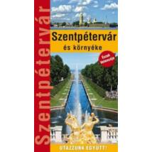 Szentpétervár és környéke útikönyv