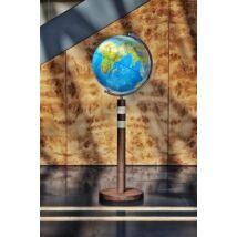 Cartographia  - TWIN BLUE földgömb - 40 cm átmérőjű, világító