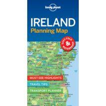 Írország laminált térkép