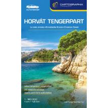 Cartographia  - Horvát tengerpart (Adria) térkép