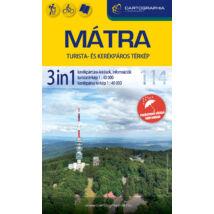 Cartographia  - Mátra 3in1 túrázóknak és kerékpárosoknak