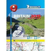 Nagy-Britannia road atlasz_Cartographia