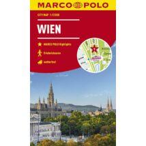 Bécs várostérkép (Marco Polo)