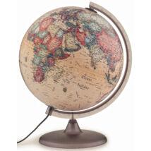 Cartographia  - Földgömb - antik, 30 cm átmérőjű, műanyagtalpas