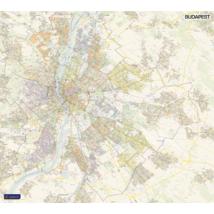 Cartographia  - Budapest falitérkép