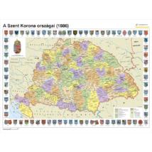 Cartographia  - A Szent Korona Országai, Nagy-Magyarország falitérkép