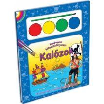 Kalózok kifestőkönyv