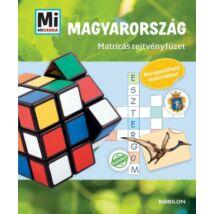 Mi micsoda? Magyarország - Matricás rejtvényfüzet