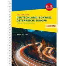 Németország, Svájc, Ausztria atlasz Falk (2020/2021)