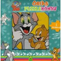 Tom és Jerry - Óriás puzzlekönyv