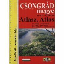 9789636100452 Csongrád megye atlasz  Cartographia