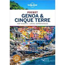 9781788683357 Genova és Cinque Terre Pocket útikönyv (angol) Lonely Cartographia