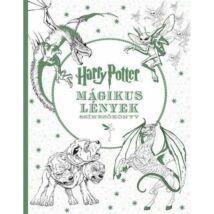 Harry Potter Mágikus lények színezőkönyv