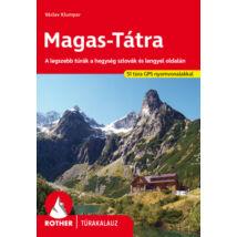 Magas-Tátra Rother túrakalauz Cartographia 9786150112237