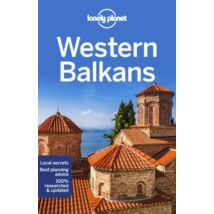 9781788682770 Nyugat-Balkán útikönyv (angol) Lonely Cartographia