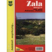 231610025 Zala megye atlasz Cartographia