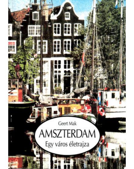 Cartographia  - Amszterdam - Egy város életrajza útikönyv