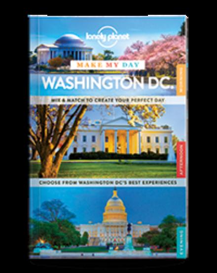 Cartographia  - Washington Make My Day útikönyv (angol) Lonely Planet