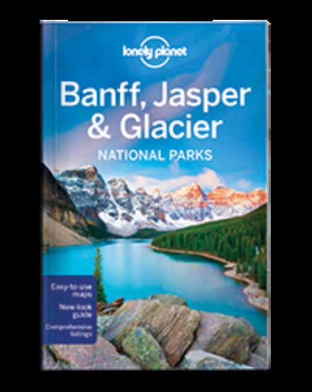 Cartographia  - Banff, Jasper & Glacier Nemzeti Park útikönyv