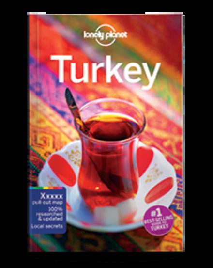 Cartographia  - Törökország útikönyv Lonely Planet