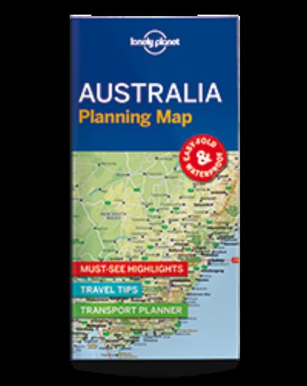 Cartographia  - Ausztrália laminált térkép