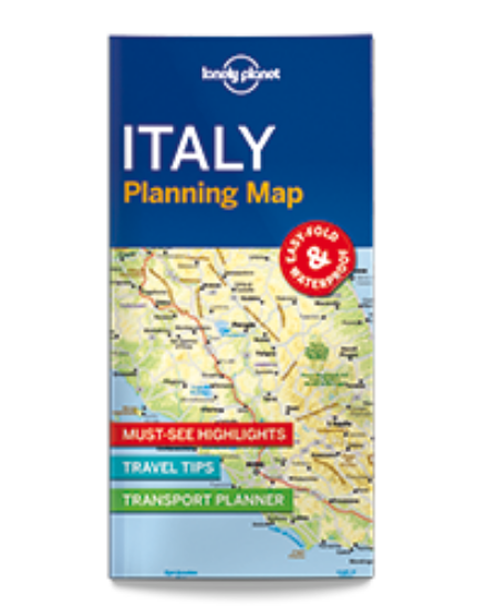 Cartographia  - Olaszország laminált térkép Lonely 2017