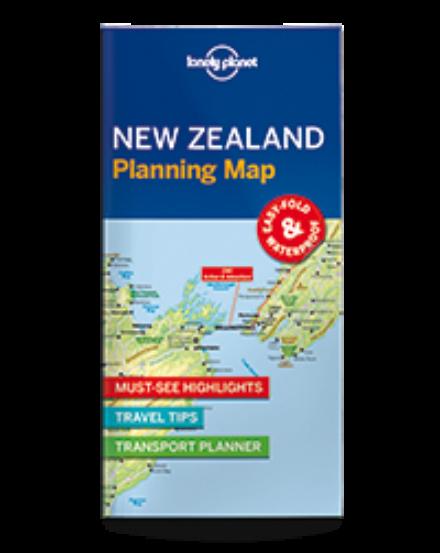 Cartographia  - Új-Zéland laminált térkép