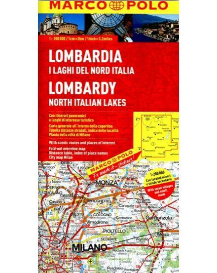 Cartographia  - Olaszország résztérkép - Lombardia