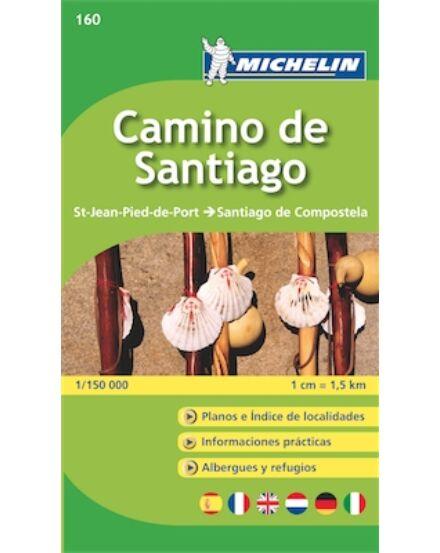 Cartographia  - Camino de Santiago  térkép 160 Michelin