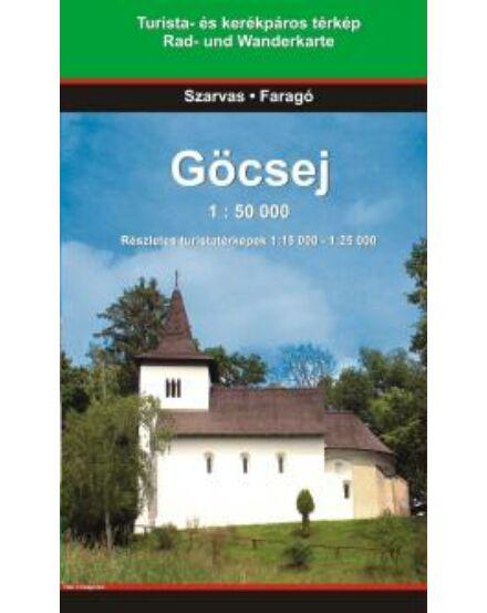 Cartographia  - Göcsej turistatérkép