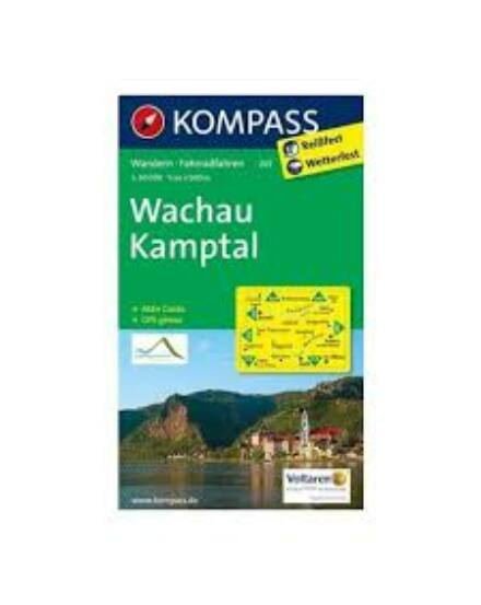 Cartographia  - K 207 Wachau, Kamptal turistatérkép