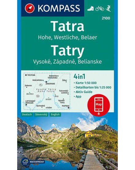 Cartographia  - K 2100 Magas-Tátra turistatérkép