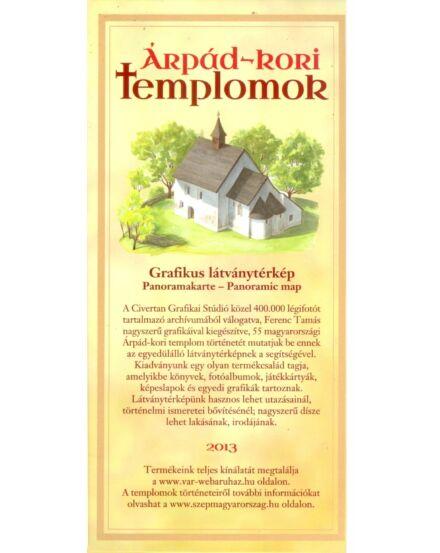 Cartographia  - Árpád-kori Templomok látványtérkép