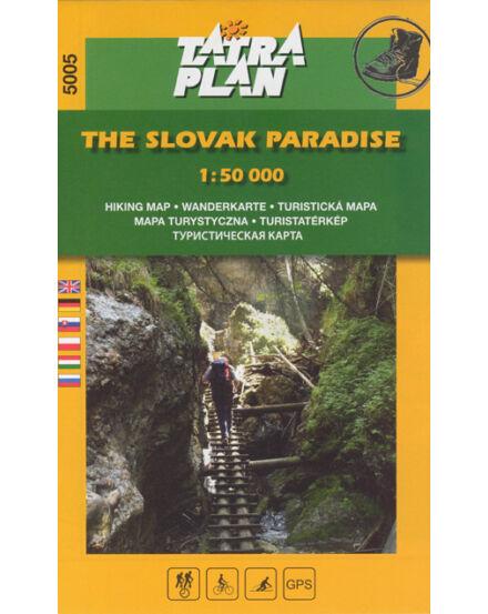 TP5005 Szlovák Paradicsom turistatérkép