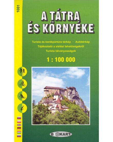 Cartographia  - TP1001 Tátra és környéke turistatérkép