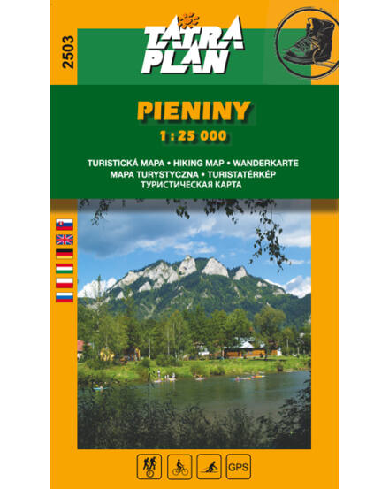 Cartographia  - TP2503 Pieninek Nemzeti Park turistatérkép