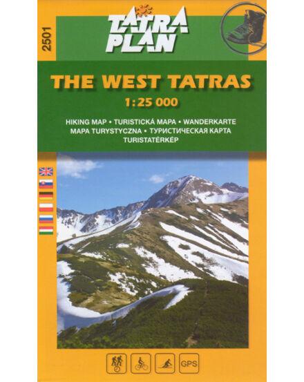 Cartographia  - TP2501 Nyugati-Tátra turistatérkép