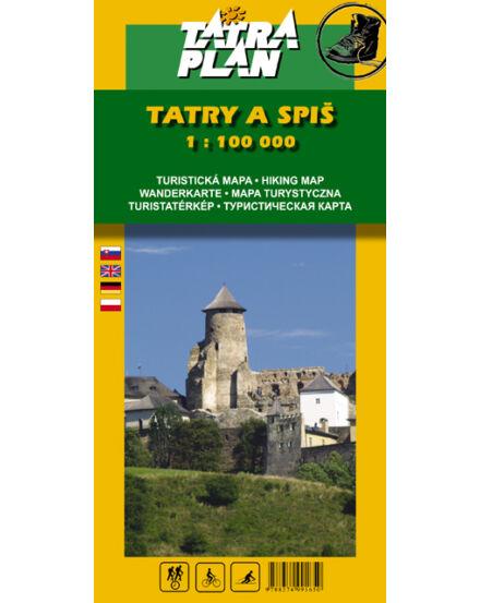 Cartographia  - TP Tátra és a Szepes turistatérkép