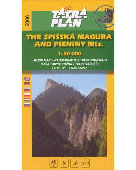 Cartographia  - TP5006 Szepesi-Magura, Pieninek turistatérkép