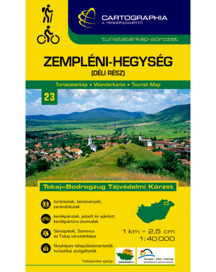 Cartographia  - Zempléni-hg. dél turistatérkép [23]